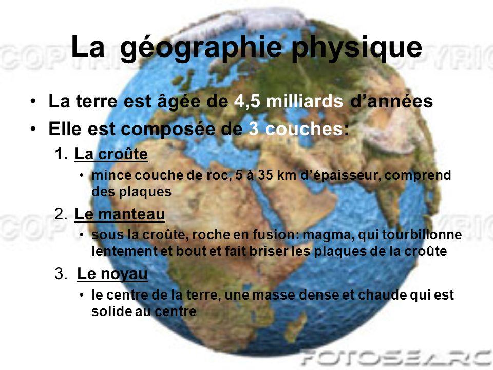 La géographie régionale de lAmérique du Nord Sciences Humaines 9