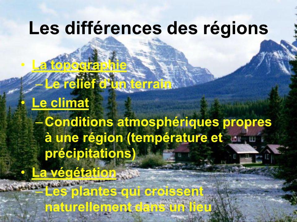 La glaciation Il y a 12 000 les glaciers continentaux commencèrent à fondre, leur mouvement a modifié le paysage de lA.