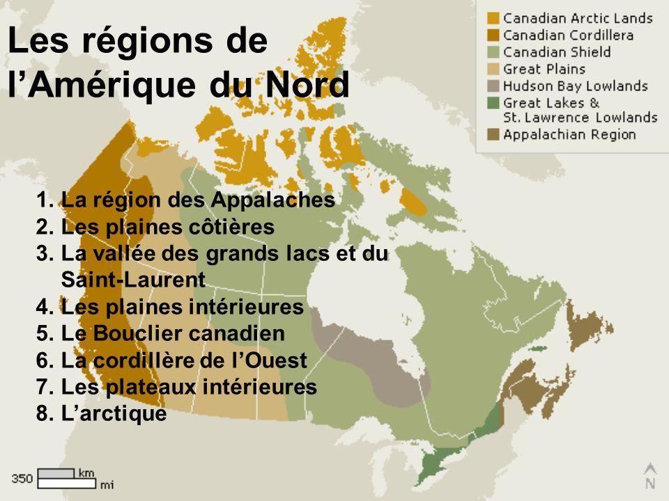 Les différences des régions La topographie –Le relief dun terrain Le climat –Conditions atmosphériques propres à une région (température et précipitat
