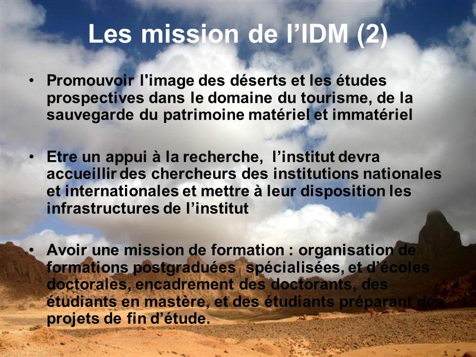 Le fonctionnement de lIDM