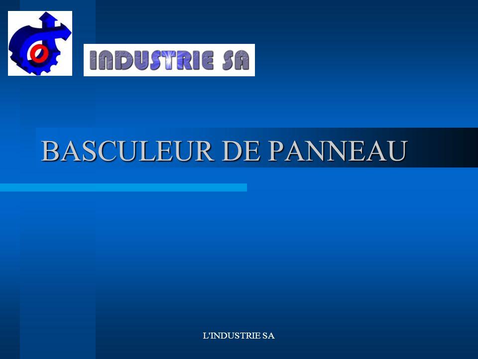L INDUSTRIE SA BASCULEUR DE PANNEAU