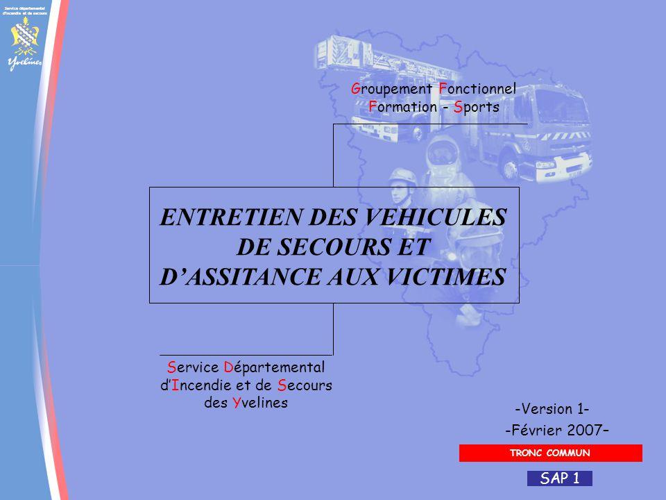 Service départemental d incendie et de secours Yvelines : une équipe SAP 1 Quand.