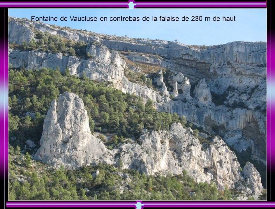 Les ruines du château des évêques de Cavaillon