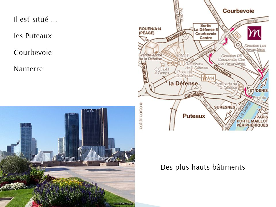 Le nom du quartier… La Défense de Paris