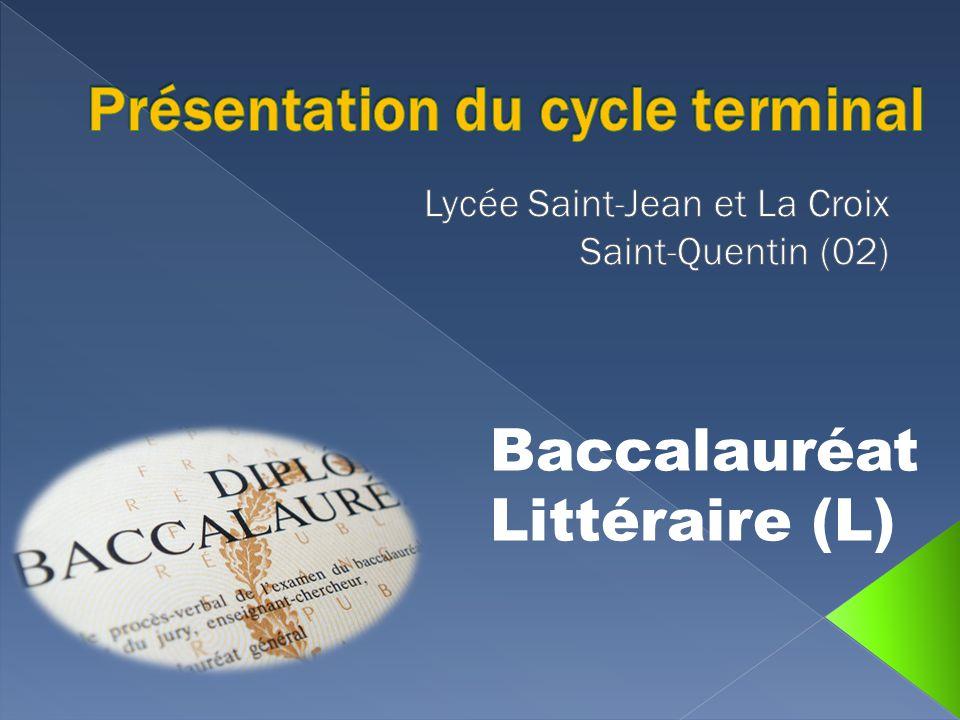 Baccalauréat Littéraire (L)