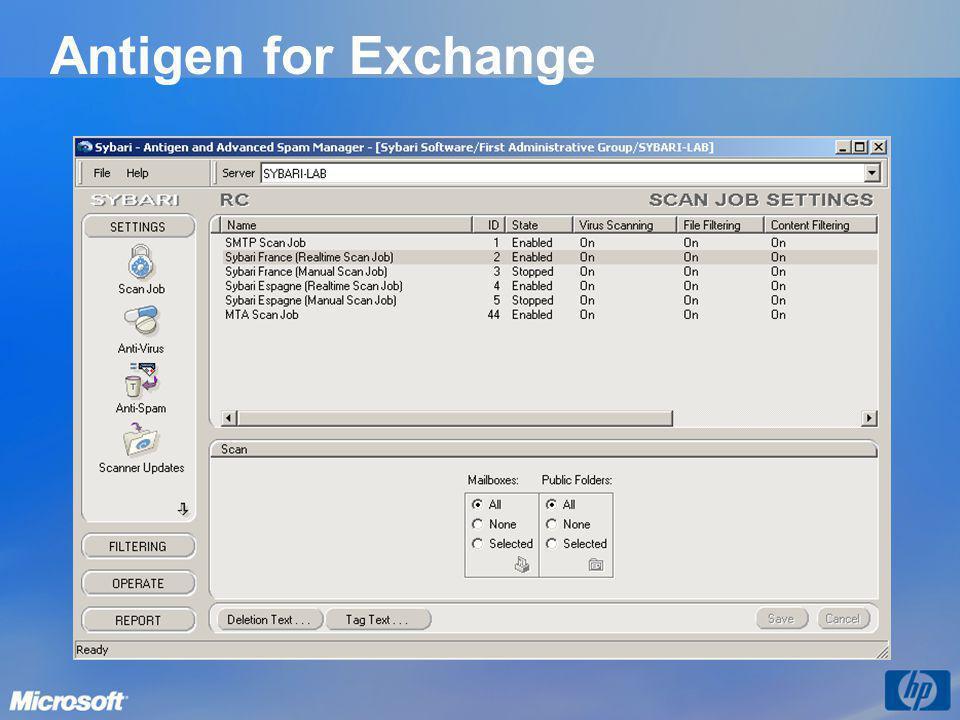 Antigen for Exchange