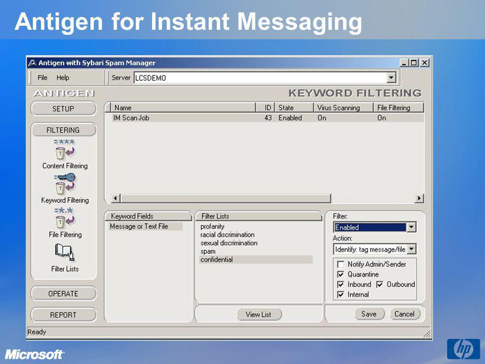 Antigen for Instant Messaging