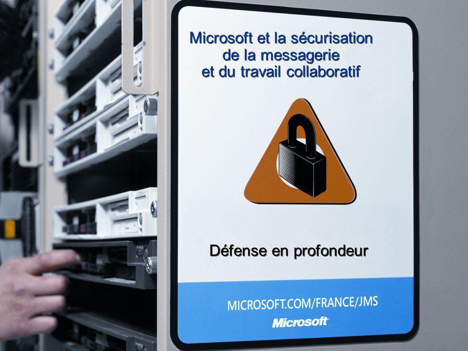 Microsoft et la sécurisation de la messagerie et du travail collaboratif Défense en profondeur