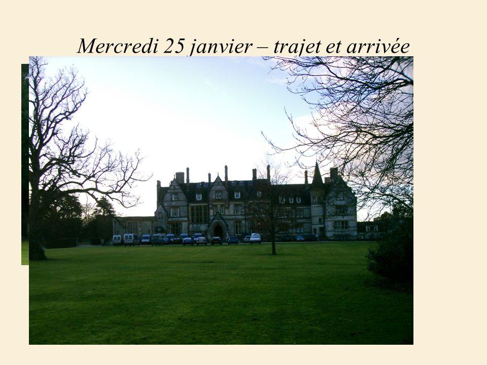 Jumelage avec Clayesmore School Séjour du 25 au 31 janvier 2006