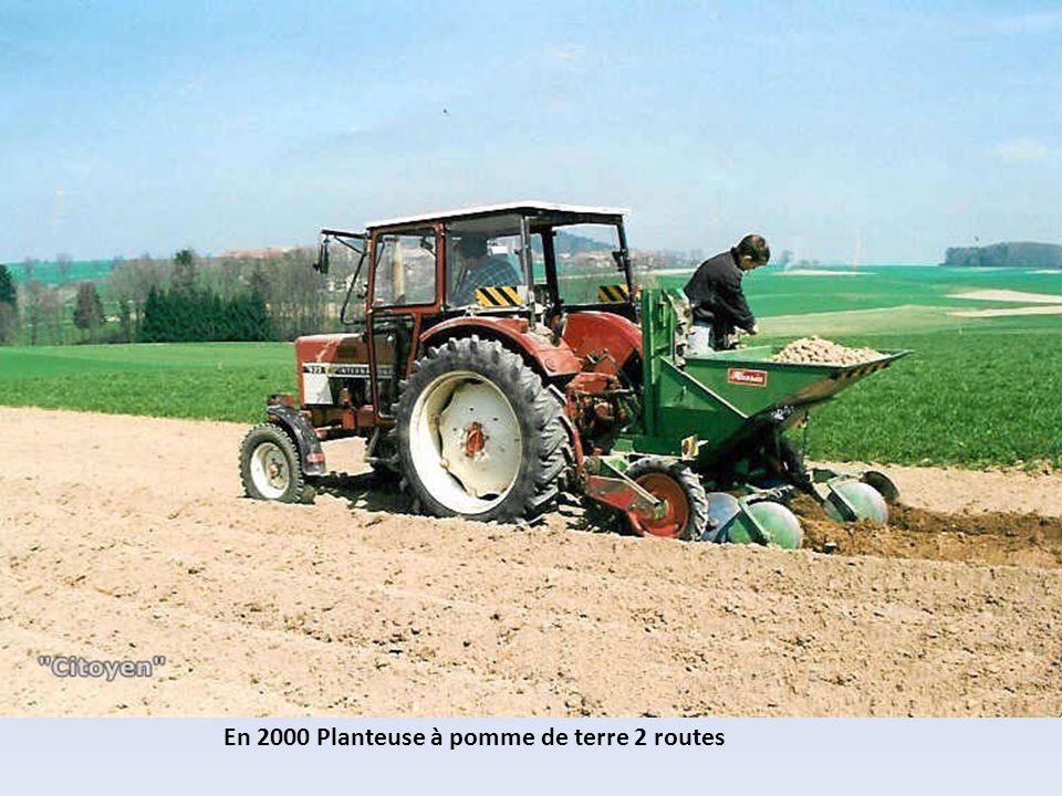 En 2010 Planteuse à pomme de terre 8 routes