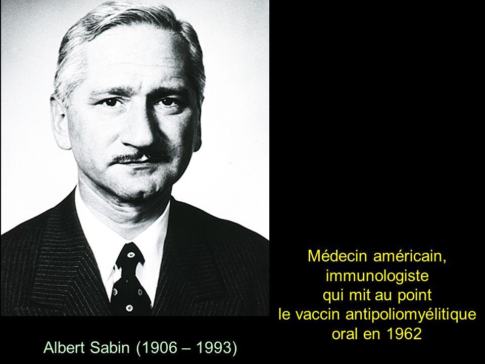 Max Theiler 1951 1899 - 1972 Comment combattre la fièvre jaune en 1951