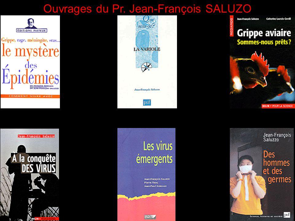 Ouvrages du Pr. Jean-François SALUZO