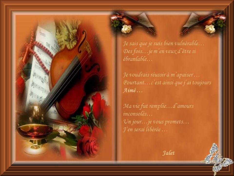 Je désire remercier Jalet, pour mavoir confié ce très beau poème.