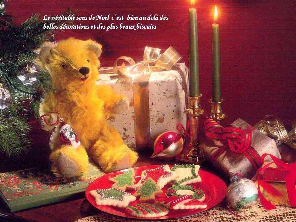 Noël se trouve à lintérieur de soi pour irradier vers lextérieur