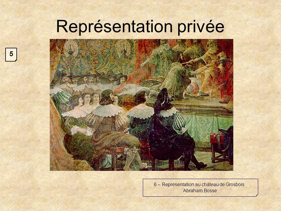 Représentation privée 6 – Représentation au château de Grosbois Abraham Bosse 5