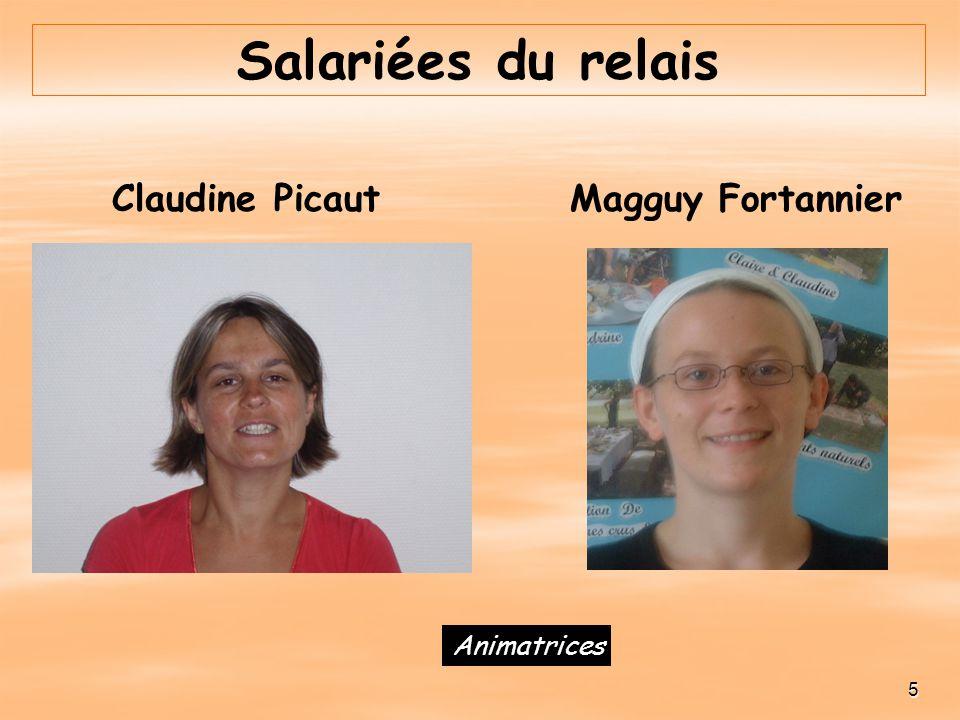 Salariées du relais Magguy Fortannier 5 Claudine Picaut Animatrices