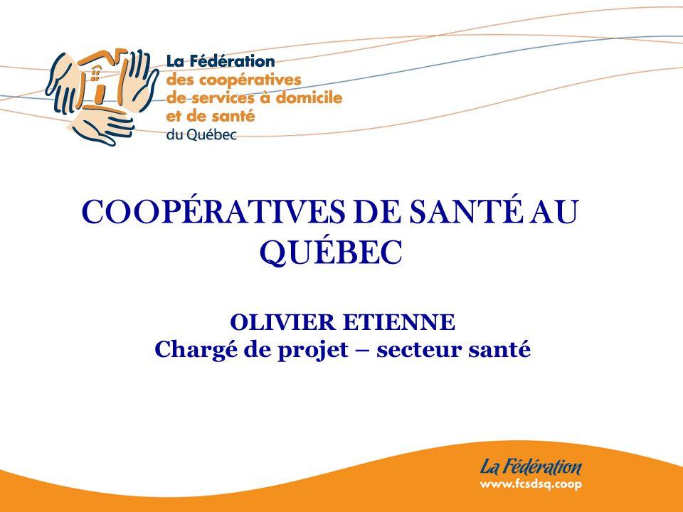 2 Plan de la présentation En introduction : Quest-ce quune coopérative de santé .