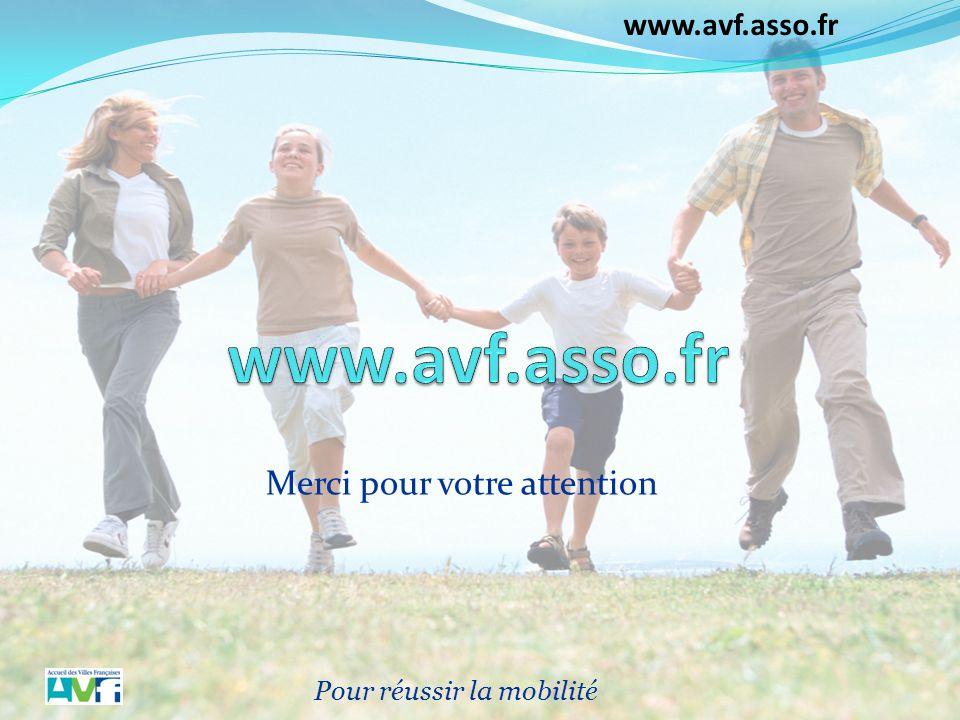 www.avf.asso.fr Merci pour votre attention Pour réussir la mobilité 9