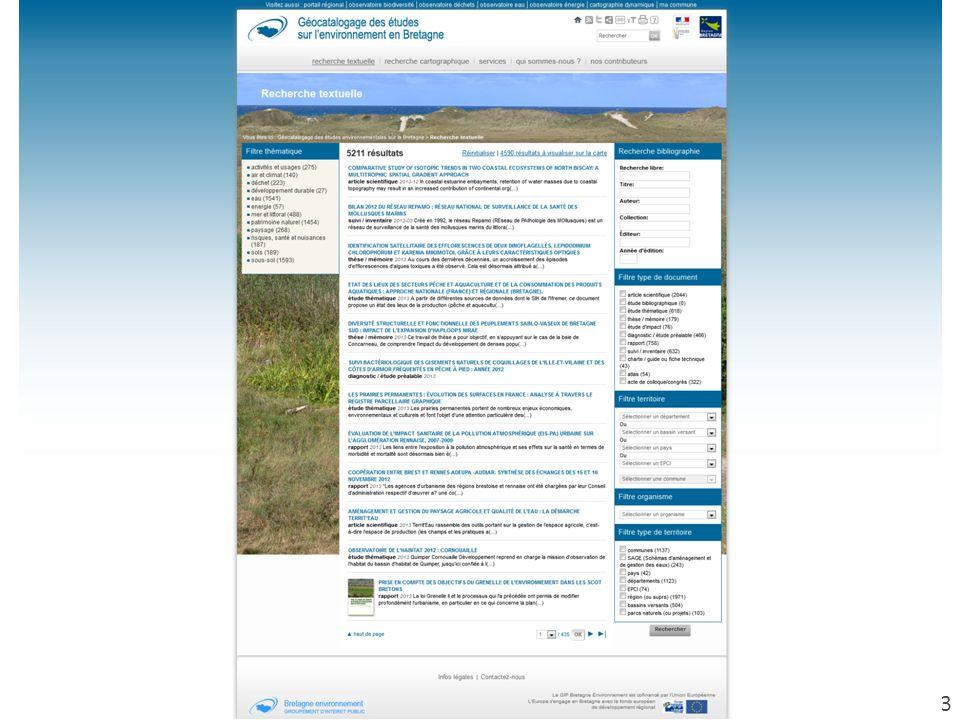 | Groupement dintérêt public Bretagne environnement 33
