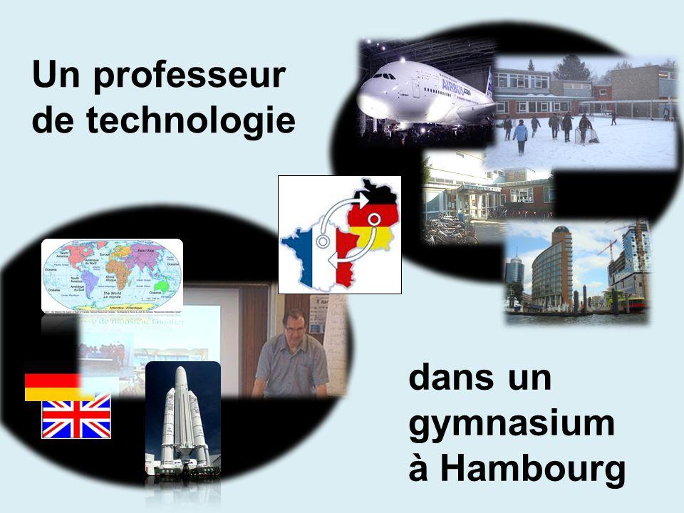 Un professeur de technologie dans un gymnasium à Hambourg