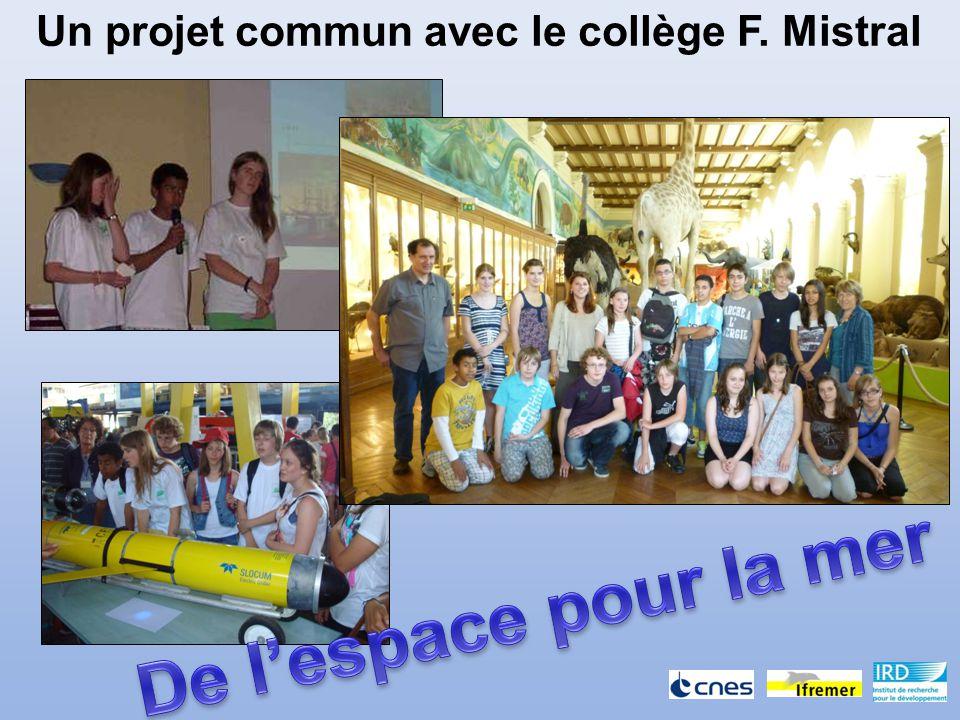 Un projet commun avec le collège F. Mistral