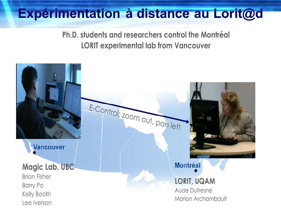 Expérimentation à distance au Lorit@d