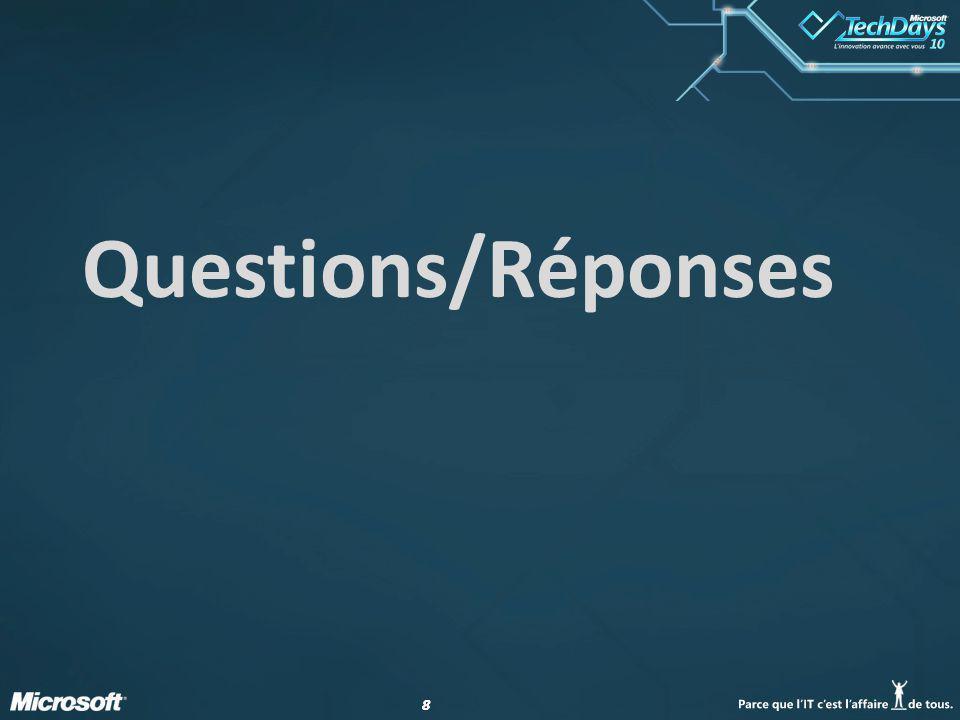 88 Questions/Réponses