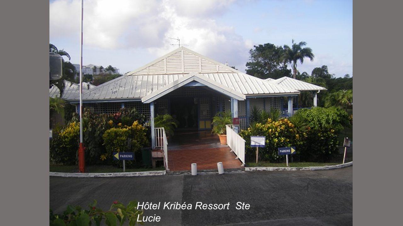 Hôtel Kribéa Ressort Ste Lucie