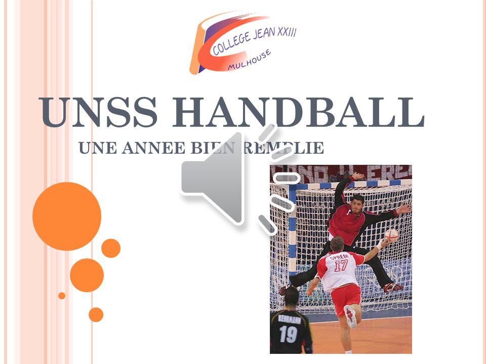 Voilà un petit bilan de cette année scolaire concernant le handball.