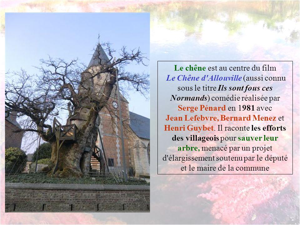 Le chêne tel quil était Au 18e siècle Jadis entouré d'autres arbres, il a échappé à la destruction, notamment pendant la Terreur où les révolutionnair