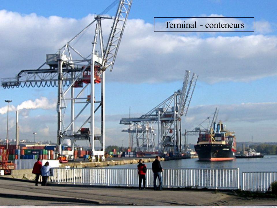 Terminal - conteneurs