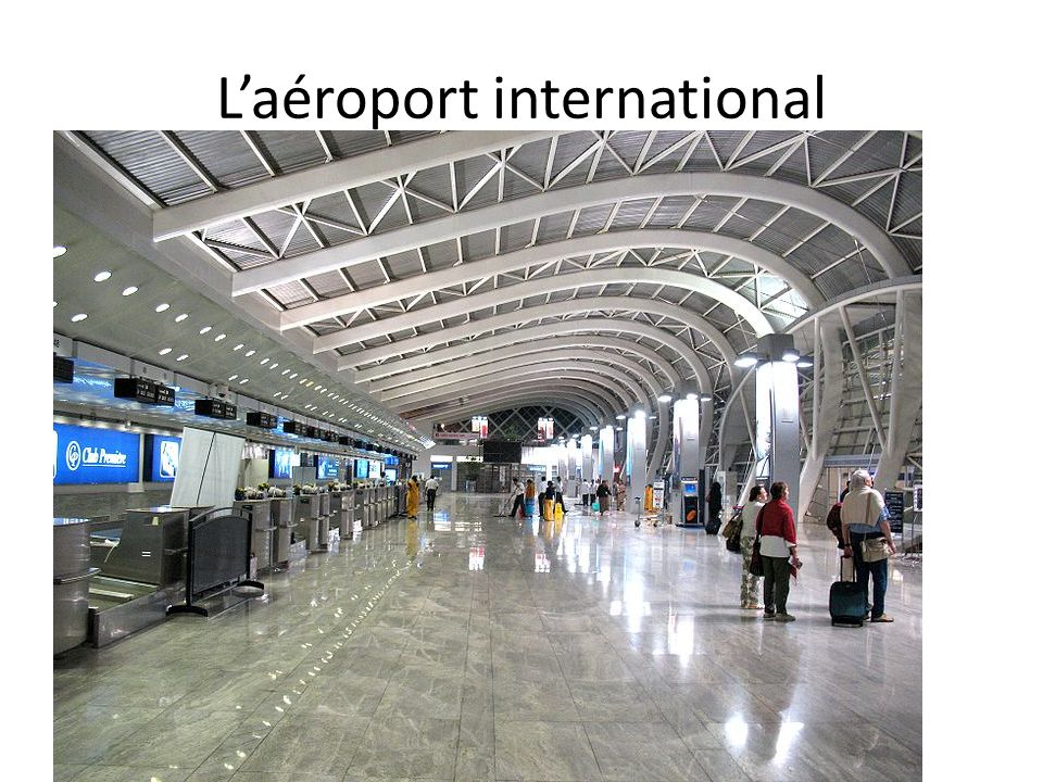 Laéroport international