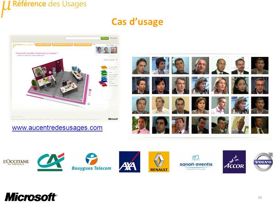 36 Cas dusage www.aucentredesusages.com