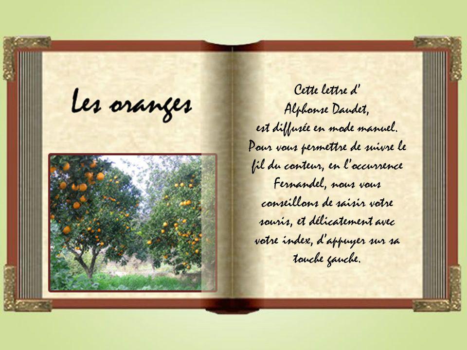 Cette lettre d Alphonse Daudet, est diffusée en mode manuel.