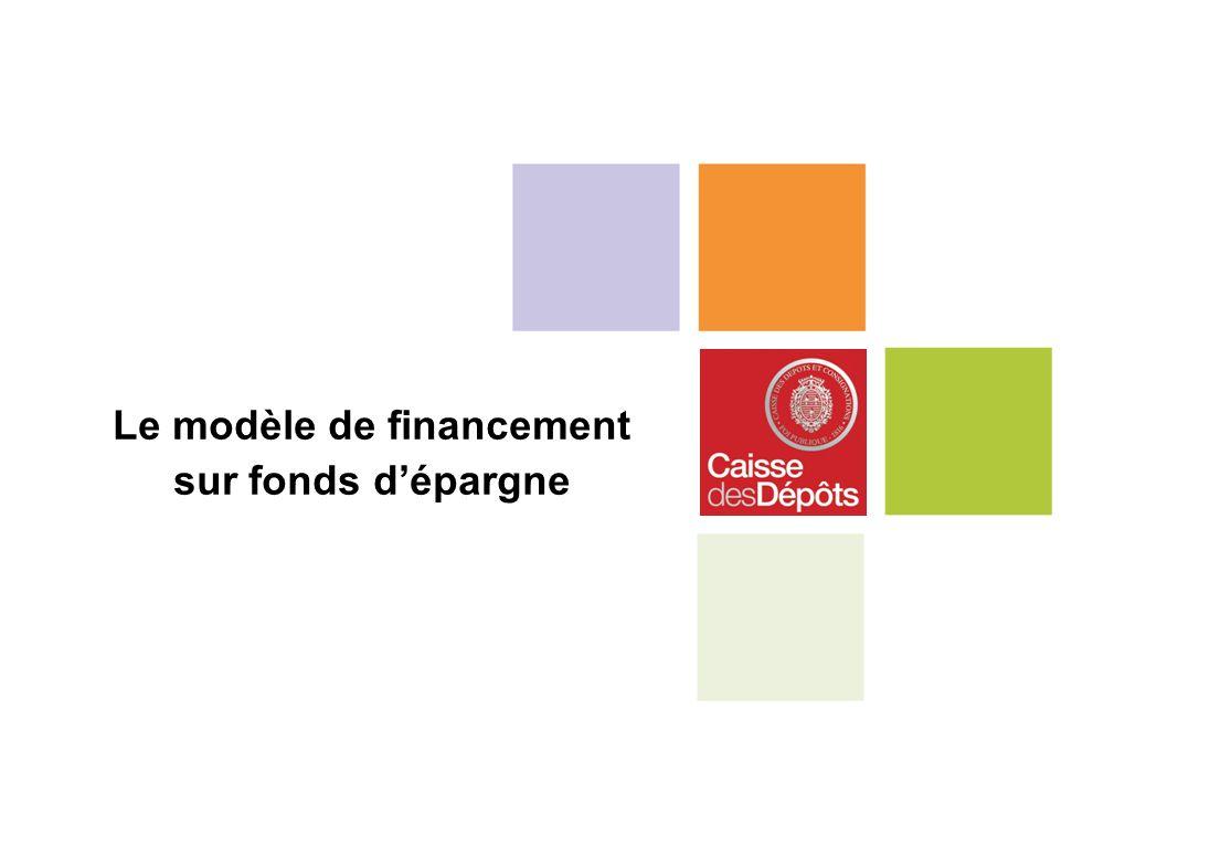 Le modèle de financement sur fonds dépargne