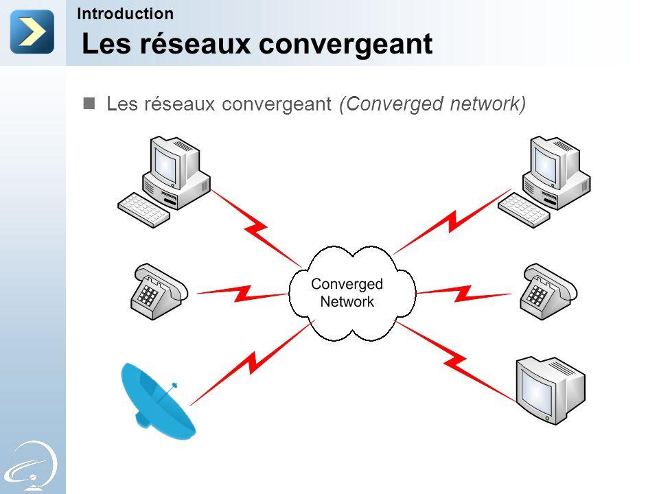 Les réseaux convergeant Introduction Les réseaux convergeant (Converged network)