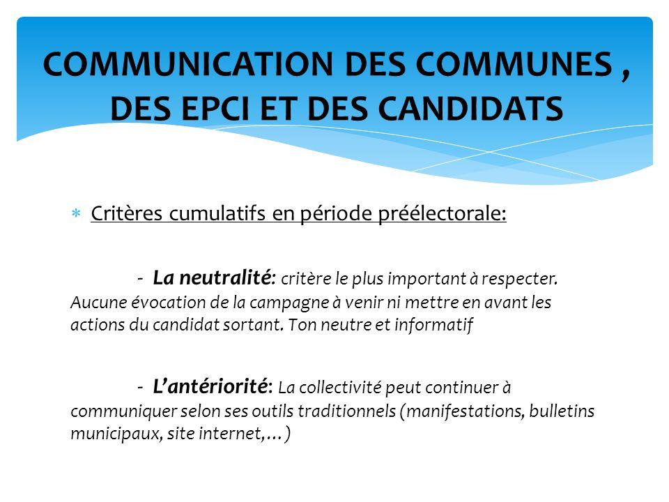 - la régularité : vérification de la périodicité des publications sur tout support de communications nest pas changé, mise à jour inhabituelle, ….