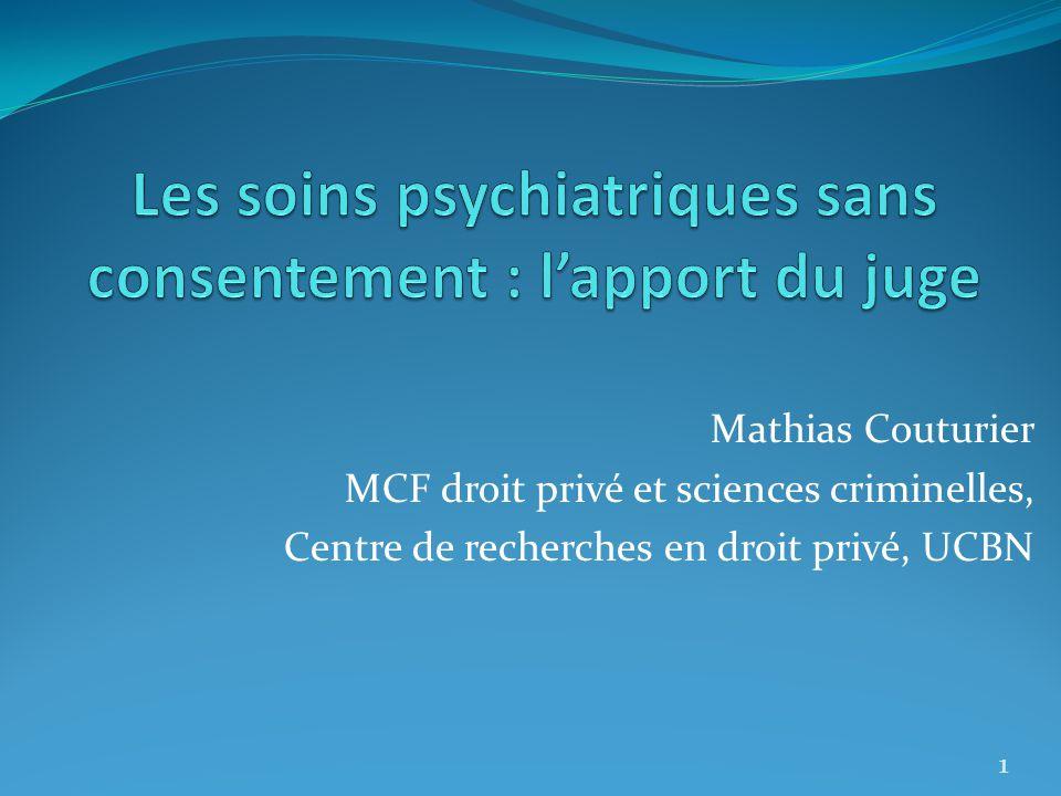 Mathias Couturier MCF droit privé et sciences criminelles, Centre de recherches en droit privé, UCBN 1