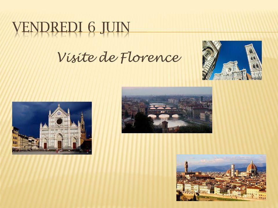 Visite de Florence