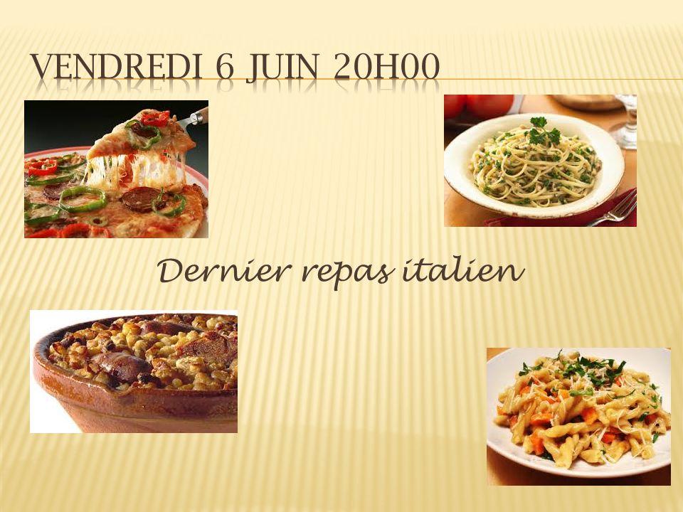 Dernier repas italien