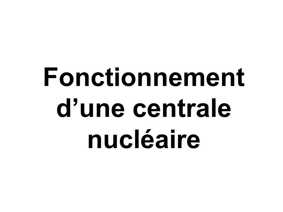 Fonctionnement dune centrale nucléaire