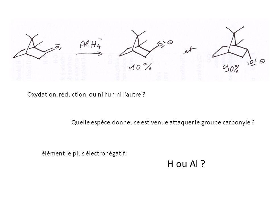 Oxydation, réduction, ou ni lun ni lautre .