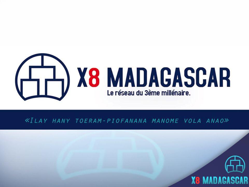 X8 Madagascar Bureau 1 ère étage, Lot IVA 129 B Ambodivonkely Ambohimanarina Antananarivo 101 Tel : 33 15 138 88 – 34 42 138 88 Mail : contact@x8madagascar.com Web : www.x8madagascar.com NOUS CONTACTER X8 Madagascar est le premier centre de formation et de loisirs qui vous rémunère