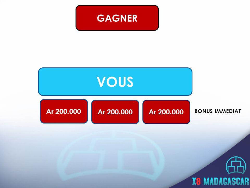 VOUS Ar 200.000 BONUS IMMEDIAT GAGNER