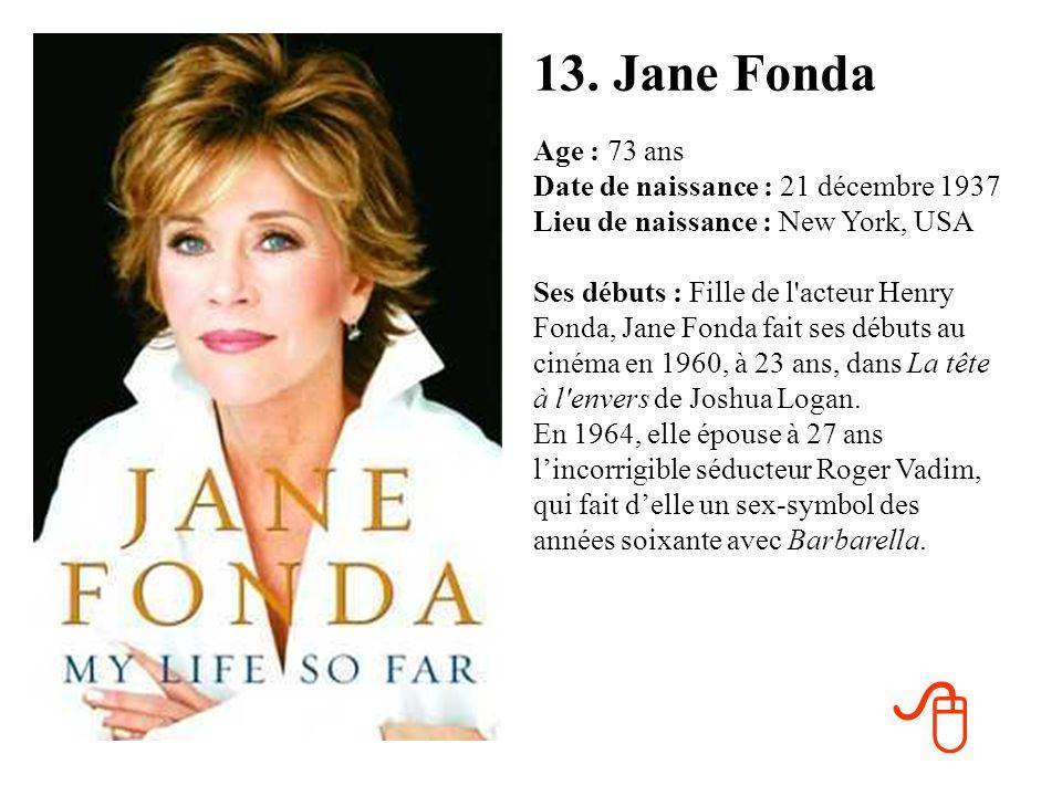 12. France Gall Age : 63 ans Date de naissance : 9 octobre 1947 Lieu de naissance : Paris (75) Ses débuts : Le 30 octobre 1959, France Gall, qui fête