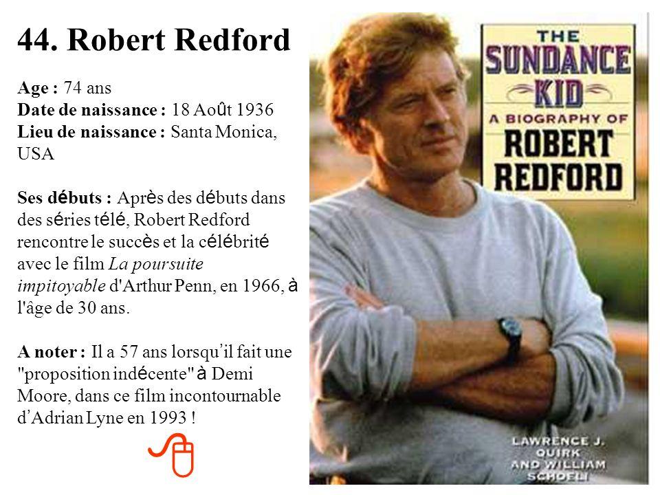 43. Nadine de Rothschild Age : 78 ans Date de naissance : 18 avril 1932 Lieu de naissance : Saint-Quentin (02) Ses d é buts : Apr è s une br è ve carr