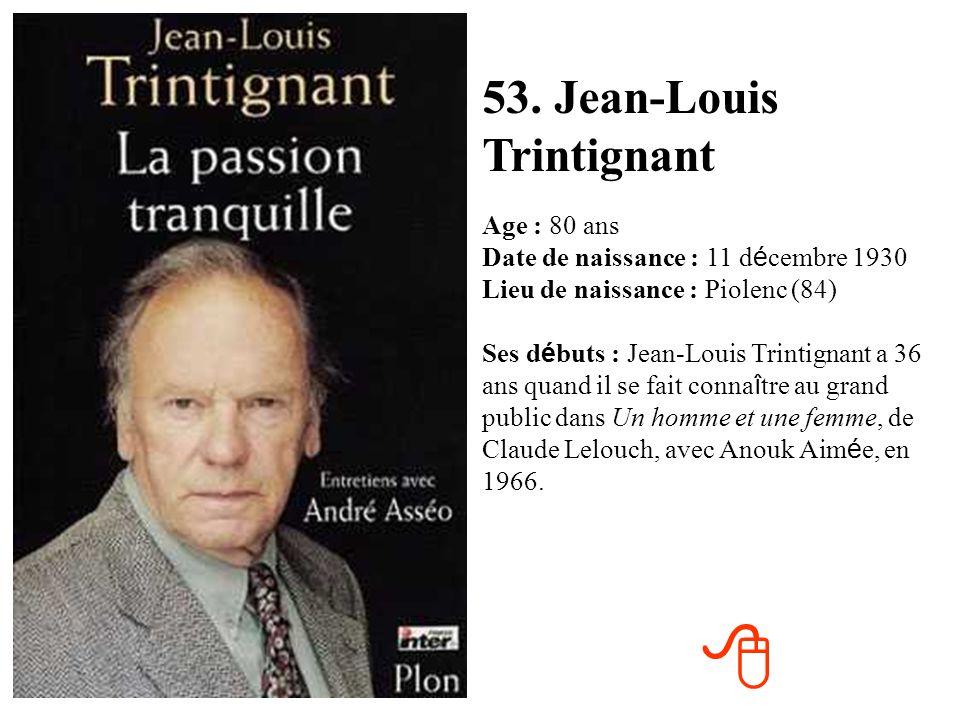 52. Claude Sarraute Age : 83 ans Date de naissance : 24 juillet 1927 Lieu de naissance : Paris (75) Ses d é buts : En 1987, apr è s une carri è re de