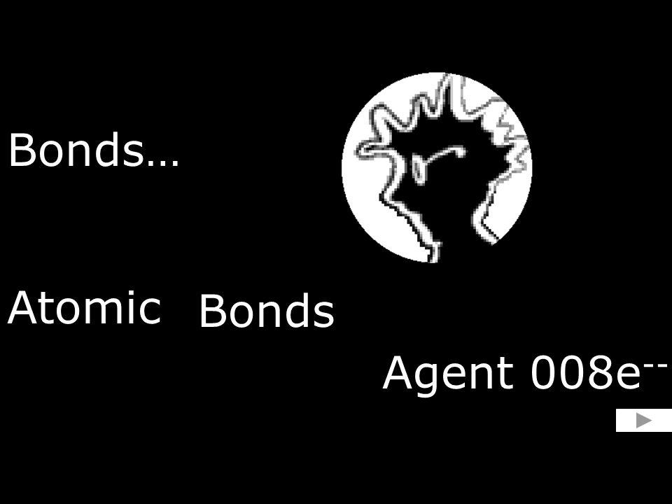 Bonds… Atomic Bonds Agent 008e --