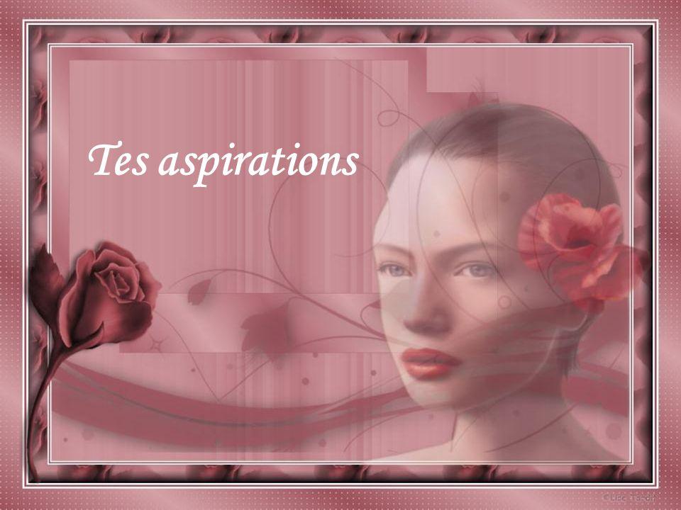 Tes aspirations