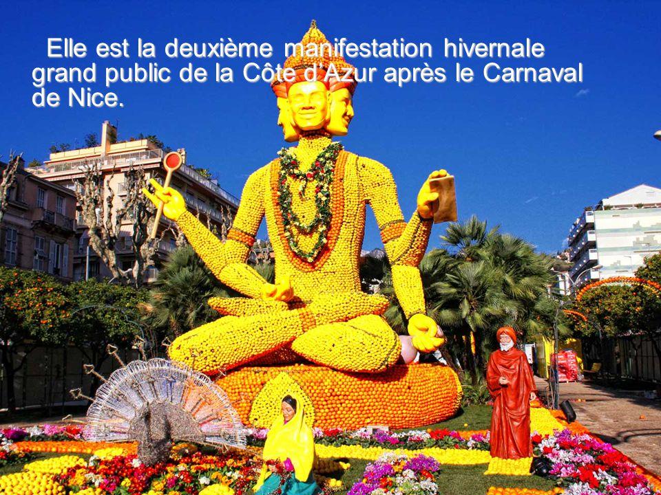 Elle est la deuxième manifestation hivernale grand public de la Côte dAzur après le Carnaval de Nice.
